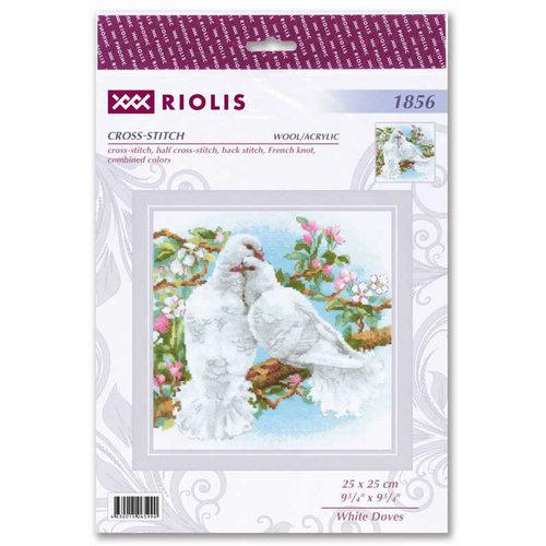RIOLIS Borduurpakket White Doves - RIOLIS