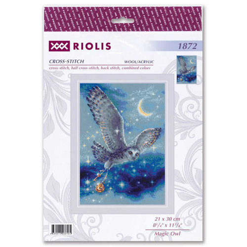 RIOLIS Borduurpakket Magic Owl - RIOLIS