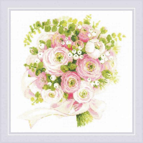 RIOLIS Borduurpakket Wedding Bouquet - RIOLIS