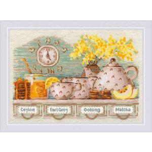 RIOLIS Borduurpakket Tea Time - RIOLIS