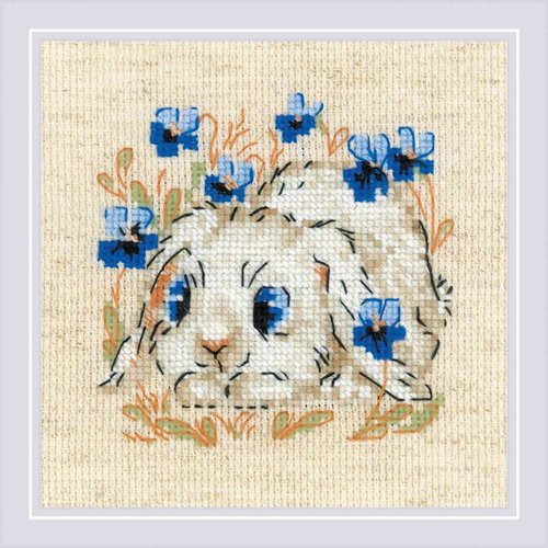 RIOLIS Borduurpakket Little Bunny - RIOLIS