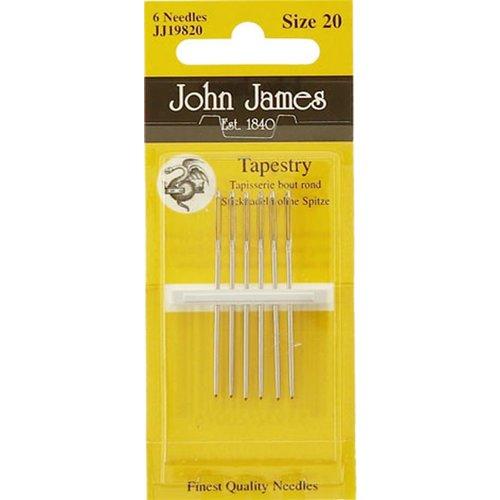 John james John James - Borduurnaald #20 zonder punt