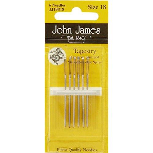John james John James - Borduurnaald #18 zonder punt