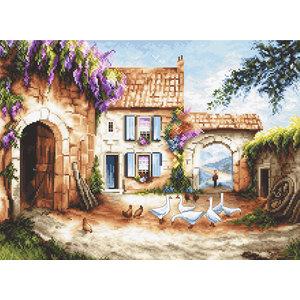 Leti Stitch Borduurpakket Village - Leti Stitch