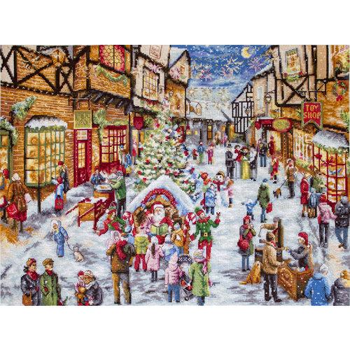 Leti Stitch Borduurpakket Christmas Eve - Leti Stitch