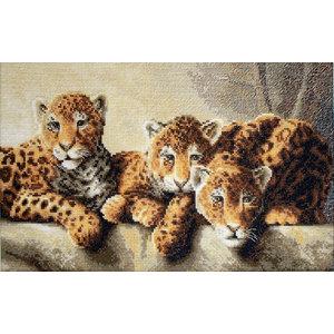 Leti Stitch Borduurpakket Leopards - Leti Stitch