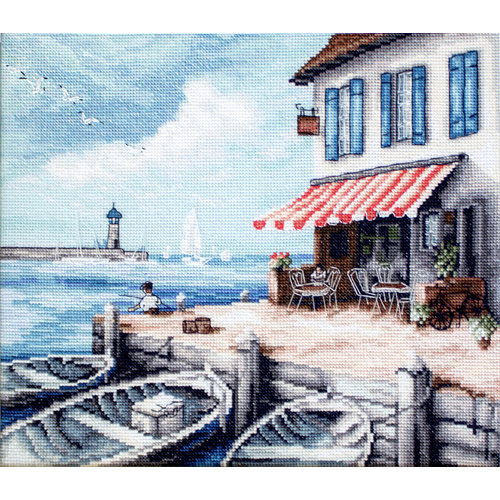 Leti Stitch Borduurpakket Sea Port - Leti Stitch