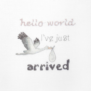 Leti Stitch Borduurpakket A gift for a Newborn - Leti Stitch