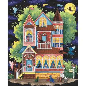 Leti Stitch Borduurpakket Fairtale House - Leti Stitch