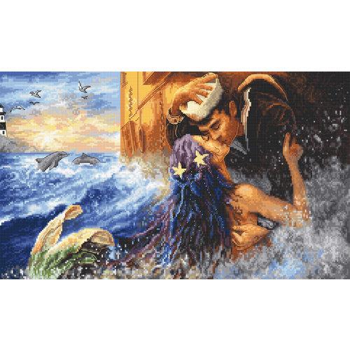 Leti Stitch Borduurpakket Mermaid Kiss - Leti Stitch