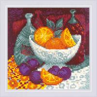 Borduurpakket Oranges - RIOLIS