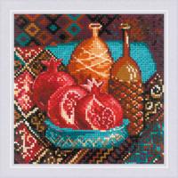 Borduurpakket Pomegranates - RIOLIS