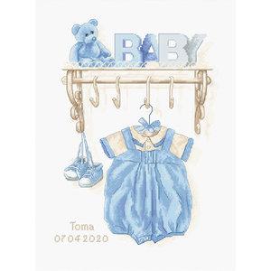 Luca-S Borduurpakket Baby Boy Birth - Luca-S