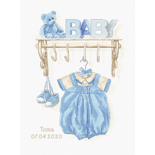 Luca-S Borduurpakket Baby Boy Birth - Luca-S
