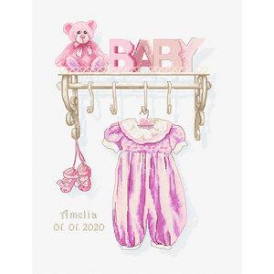 Luca-S Borduurpakket Baby Girl Birth - Luca-S