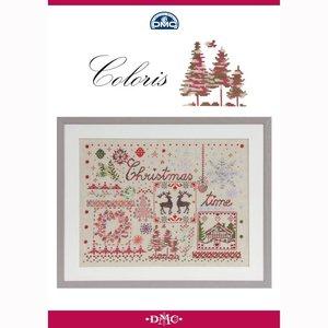DMC DMC Coloris kruissteek boekje - Kerstmis