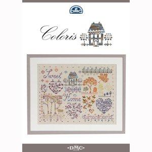 DMC DMC Coloris kruissteek boekje - Sweet Home