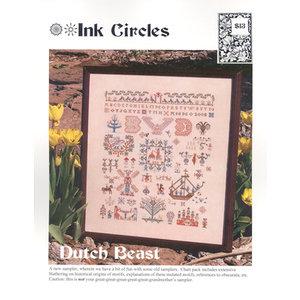 Ink Circles Borduurpatroon Dutch Beast