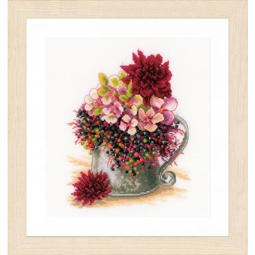 Lanarte Telpakket kit Klein roos boeketje