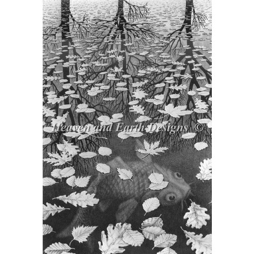 Heaven and Earth Designs  M.C. Escher: Three Worlds