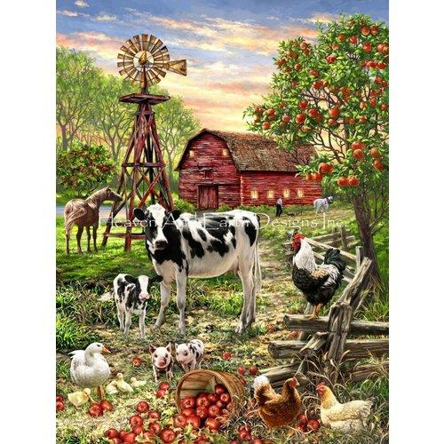 Heaven and Earth Designs  Dona Gelsinger: Barnyard Animals