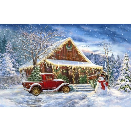 Heaven and Earth Designs  Dona Gelsinger: Mini Country Store Christmas