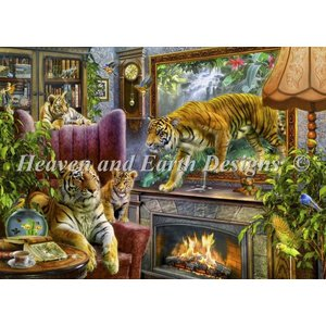 Heaven and Earth Designs  Jan Patrik Krasny: Tigers Coming To Life