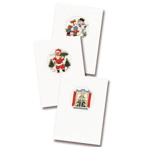Pako Wenskaart kit Kerstkaarten set van 3