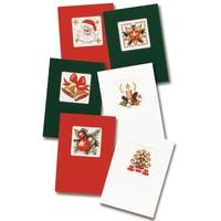 Wenskaart kit Kerstkaarten set van 6