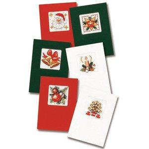 Pako Wenskaart kit Kerstkaarten set van 6
