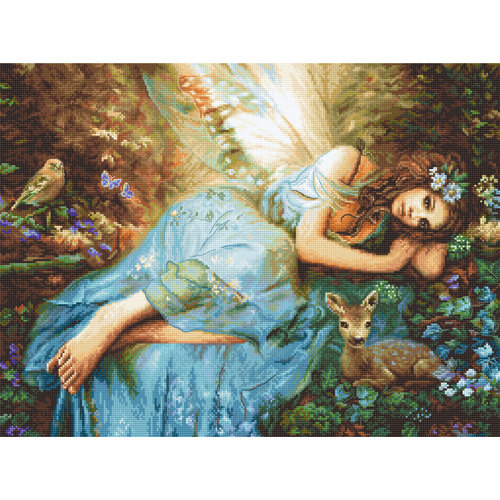 Leti Stitch Borduurpakket Spring Fairy - Leti Stitch
