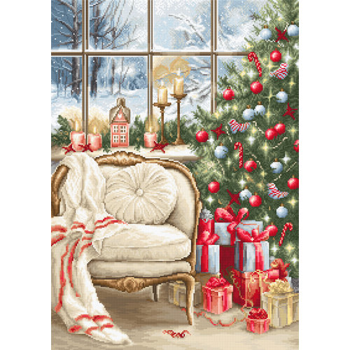 Luca-S Borduurpakket Christmas Interior Design - Luca-S