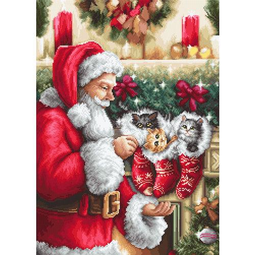Luca-S Borduurpakket Santa Claus - Luca-S
