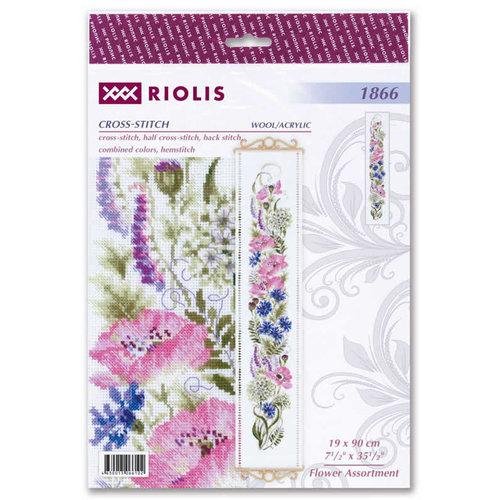 RIOLIS Borduurpakket Flower Assortment - RIOLIS