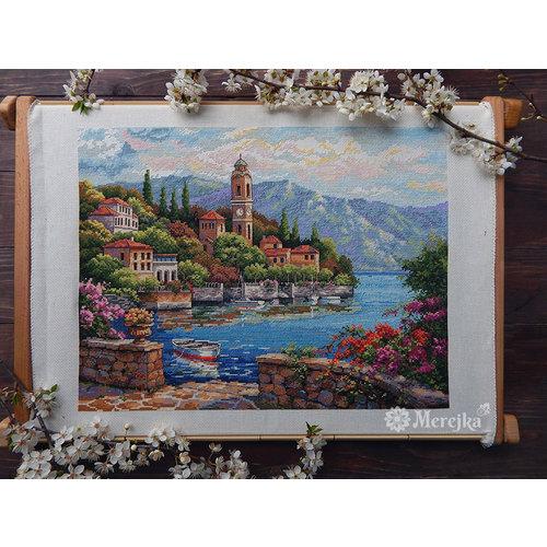 Merejka Borduurpakket Lago di Como - Merejka