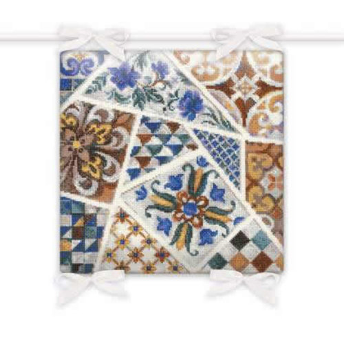 RIOLIS Borduurpakket Cushion Mosaic - RIOLIS