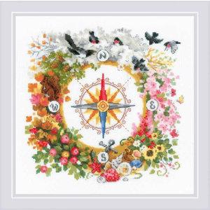 RIOLIS Borduurpakket - Compass - RIOLIS