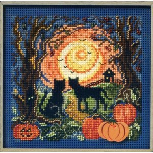 Mill Hill Buttons Beads Autumn Series - Moonlit Kitties