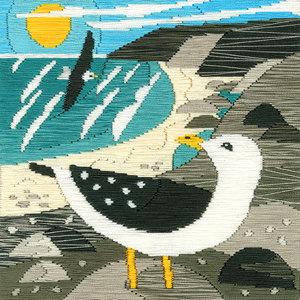Bothy Threads Borduurpakket Matt Johnson - Seagulls - Bothy Threads