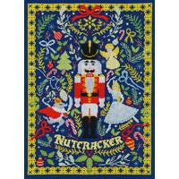 Borduurpakket Vesna Skornšek - The Christmas Nutcracker - Bothy Threads