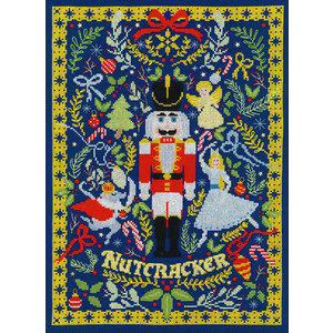 Bothy Threads Borduurpakket Vesna Skornšek - The Christmas Nutcracker - Bothy Threads