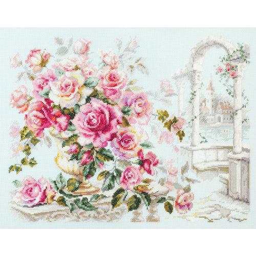 Chudo Igla Cross stitch kit Roses for the Duchess - Chudo Igla