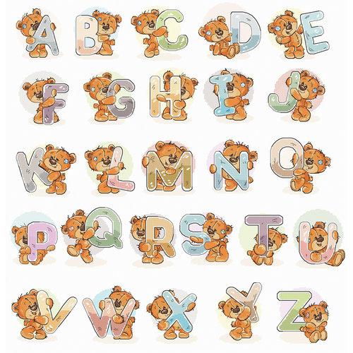 Luca-S Cross stitch kit Alphabet - Luca-S