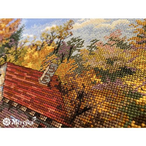 Merejka Cross stitch kit Watermill - Merejka