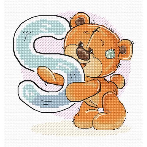 Luca-S Cross stitch kit Letter S - Luca-S