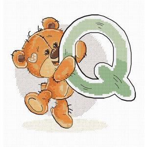 Luca-S Borduurpakket Letter Q - Luca-S