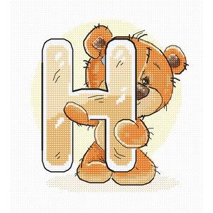 Luca-S Borduurpakket Letter H - Luca-S
