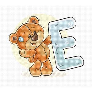 Luca-S Borduurpakket Letter E - Luca-S