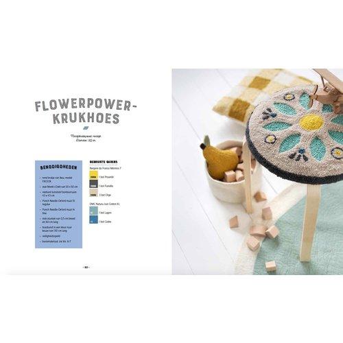 Forte Boek 'Het Punch Needle Boek' - Laetitia Dalbies