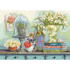 Dimensions Borduurpakket Garden Collectibles - DIMENSIONS